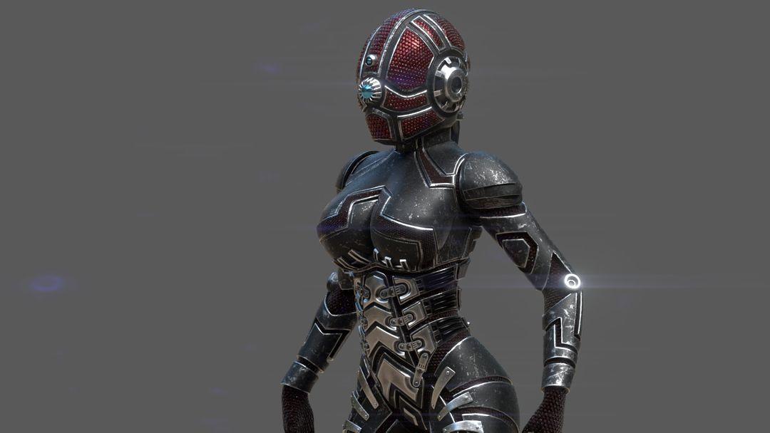 Armored girl gr18 jpg