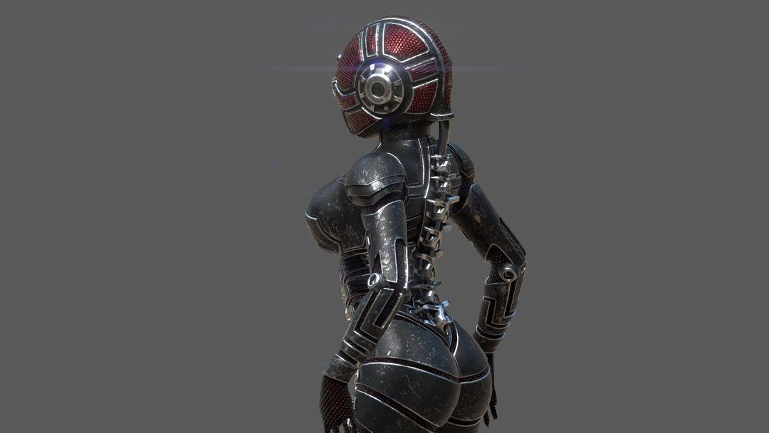 Armored girl gr19 jpg