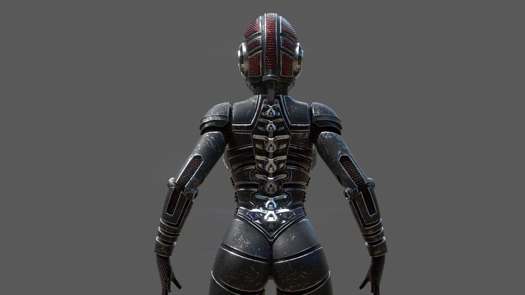 Armored girl gr20 jpg