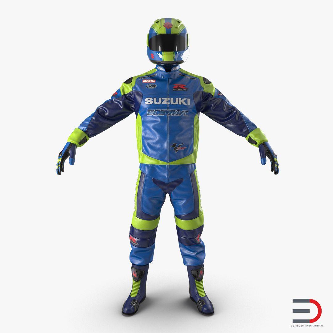 Clothing Modeling MotoGear3dmodel01 jpg