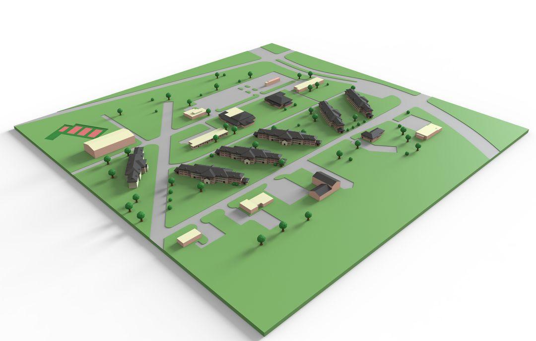 Architecture barracks obj 24 jpg