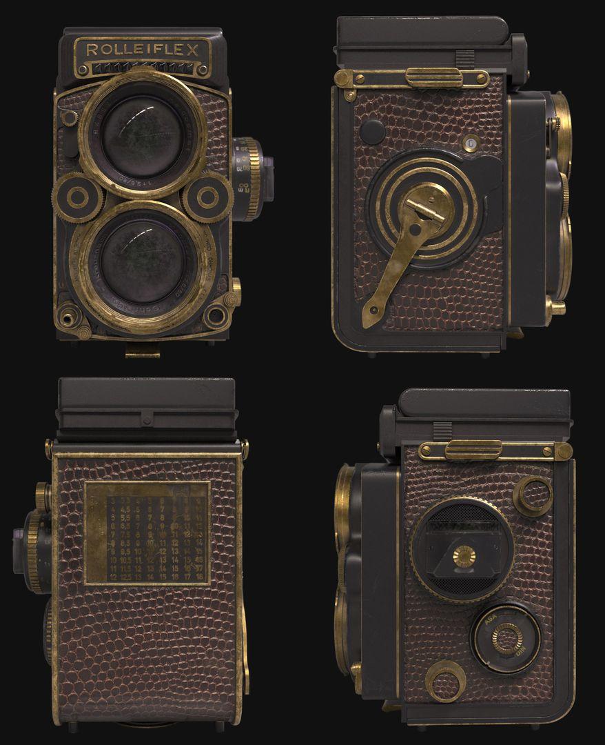Rolleiflex 2.8 F Aurum 1983 Camera alejandro libonatti artstation rolleiflex pov jpg