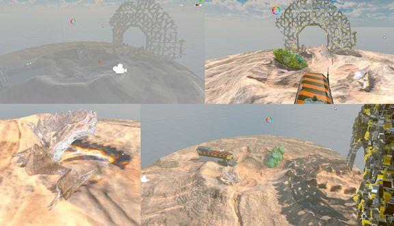 VR Scene in Unity