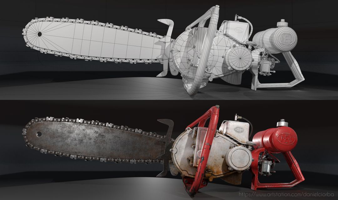IEL AB Pionner Chainsaw 2 jpg