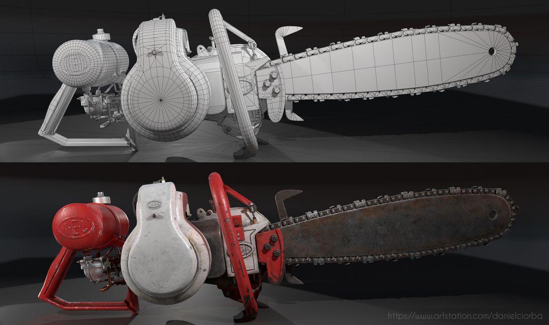 IEL AB Pionner Chainsaw 3 jpg