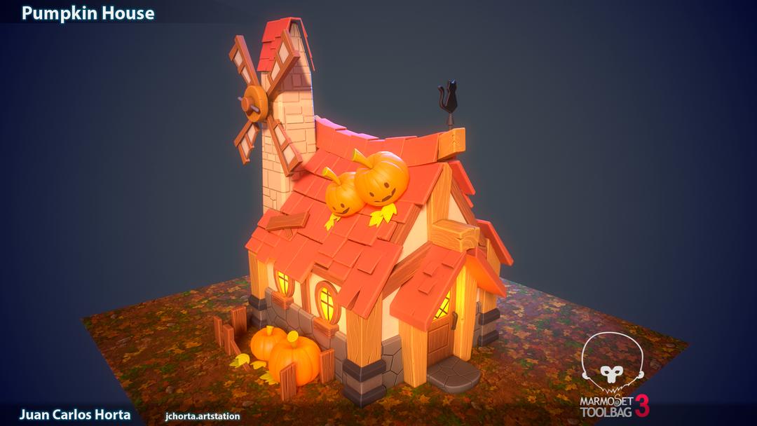 Pumpkin House Day png
