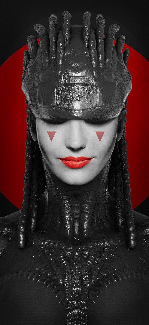The Queen 2D/3D concept Art maxime galland maxime galland the queen jpg