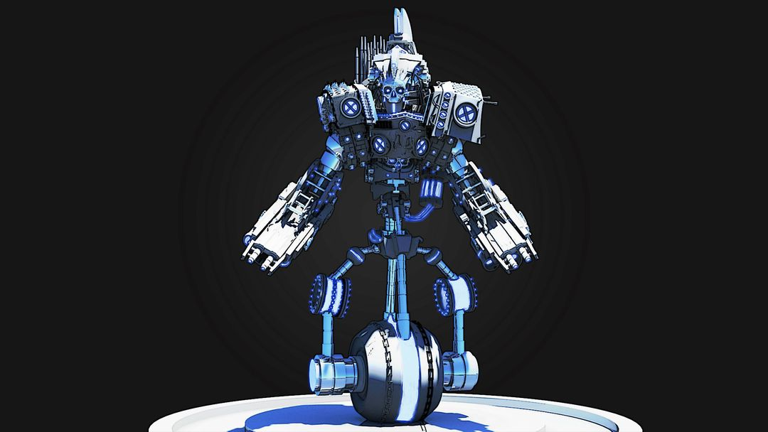 Mech Design - The Sentinel maxime galland sentinelle02 jpg