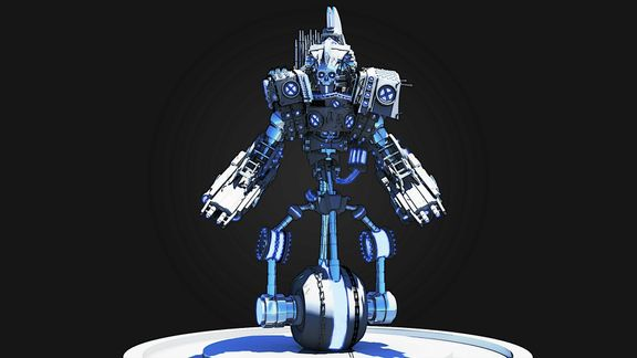 Mech Design - The Sentinel
