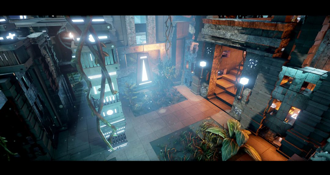 3D realtime - UE4 Environment maxime galland screen02 jpg
