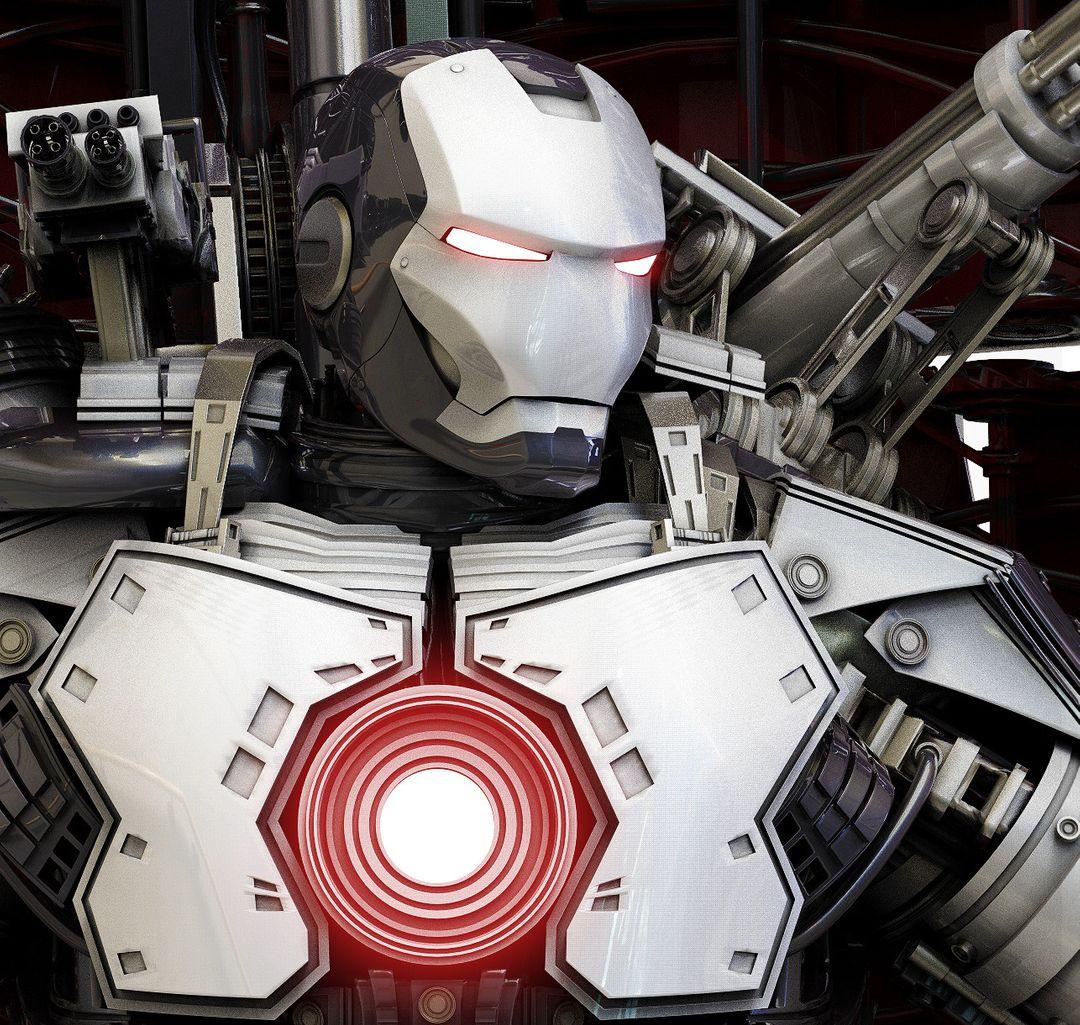 3d Mech Design - IronBot maxime galland maxime galland ironbot avatar jpg