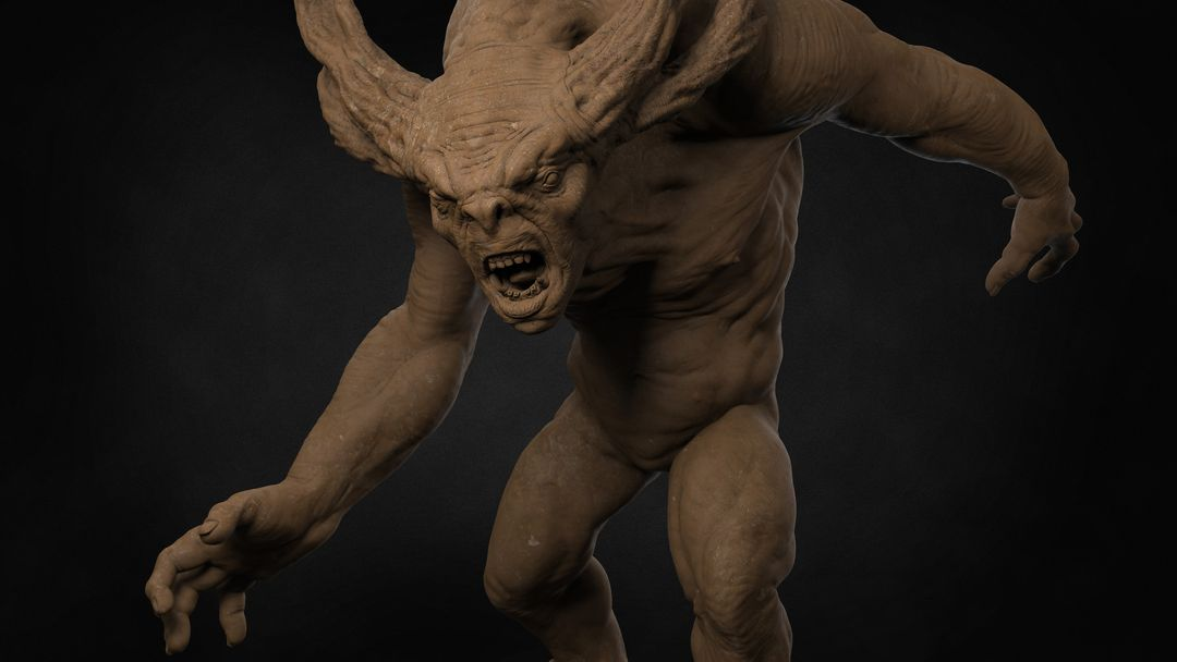 Forest Troll Character Sculpt Troll 01 jpg