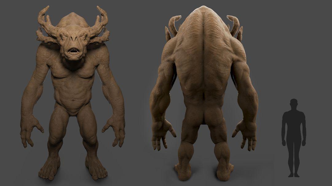 Forest Troll Character Sculpt Troll 03 jpg
