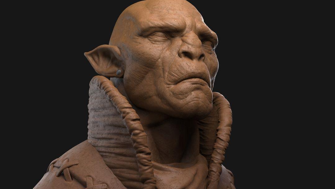 Orc Commander Character Sculpt Orc 04 jpg