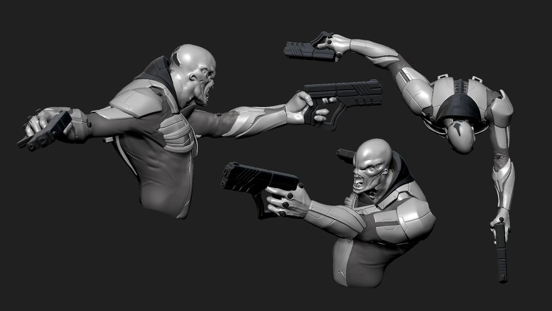 Police 3.0 Character Sculpt Police 03 jpg