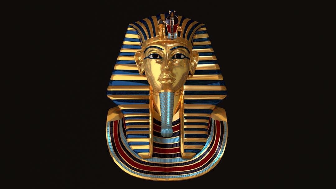 Tutankhamun's Death Mask Tutankhamun2 png