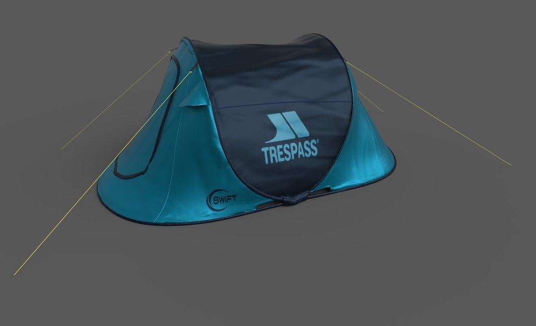 AR ecommerce project Blue Tent jpg