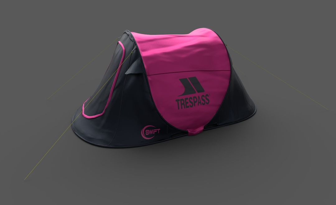 AR ecommerce project Pink Tent jpg