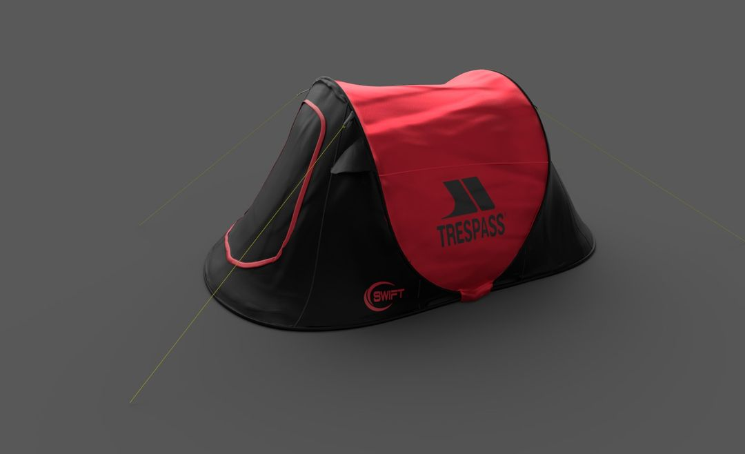 AR ecommerce project Red Tent jpg