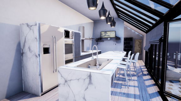 Archviz Kitchen