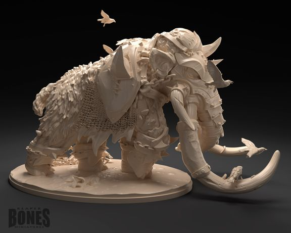 Miniature - War Mammoth