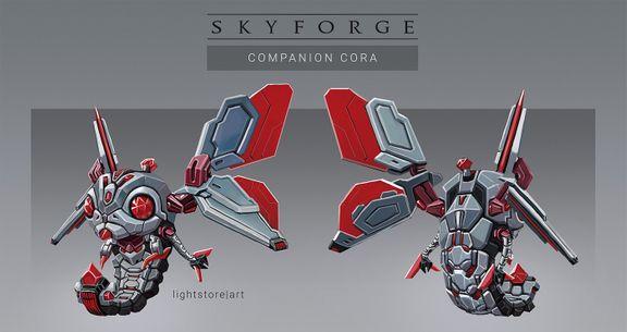 Skyforge companion concept