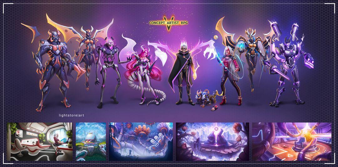 Concept Art RPG lightstore 16 jpg