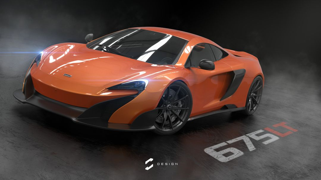 McLaren 675 LT 675lt studio orange jpg