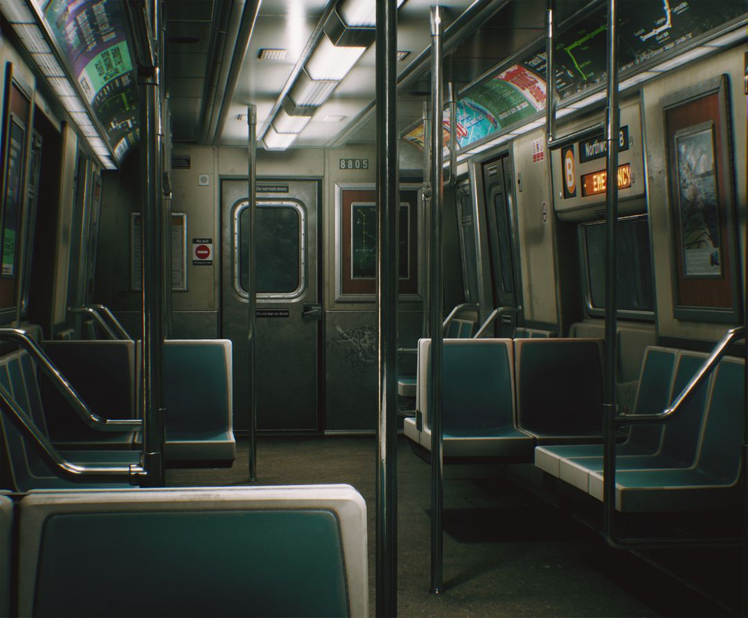 CCA Subway Train (UE4) clinton crumpler highresscreenshot00003 jpg