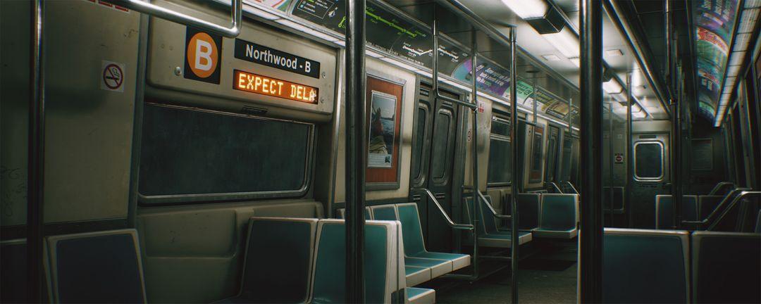 CCA Subway Train (UE4) clinton crumpler highresscreenshot00004 jpg