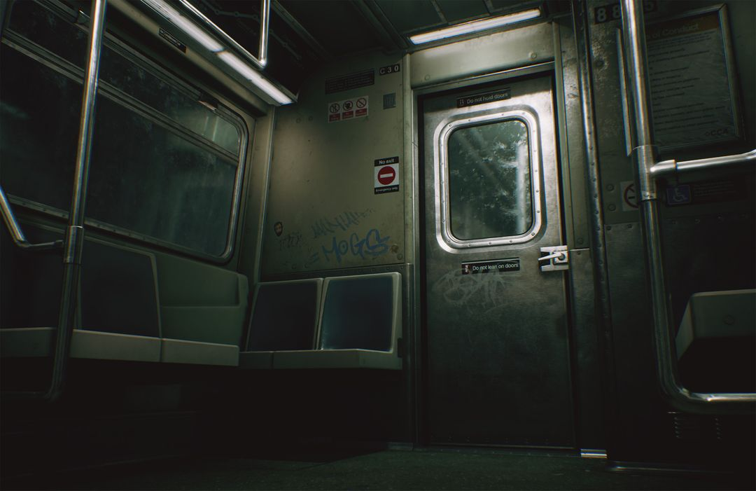 CCA Subway Train (UE4) clinton crumpler highresscreenshot00014 jpg