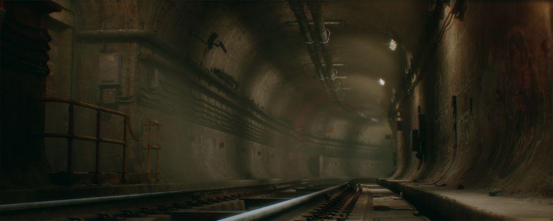 Northwood CCA Subway Tunnel (UE4) clinton crumpler highresscreenshot00005 jpg