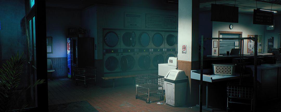 King Wash Laundromat [UE4] clinton crumpler render interior left 03 jpg