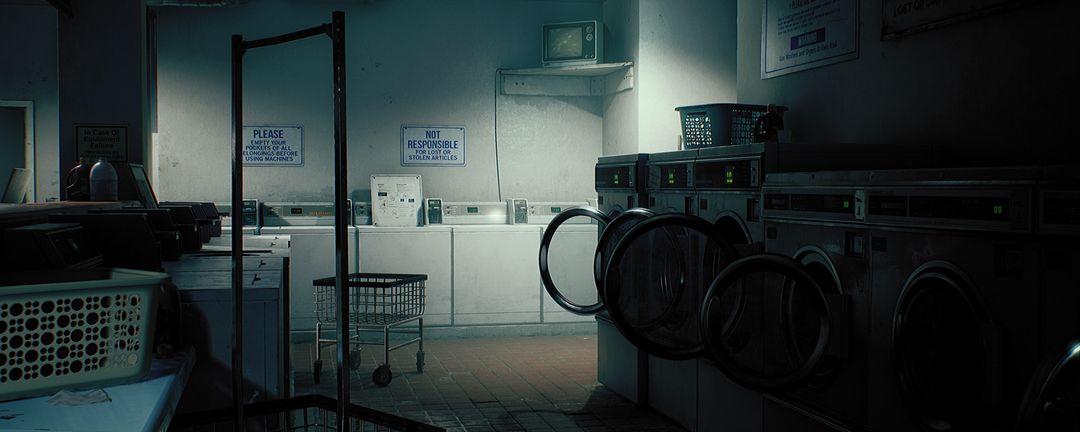 King Wash Laundromat [UE4] clinton crumpler render interior right 01 jpg