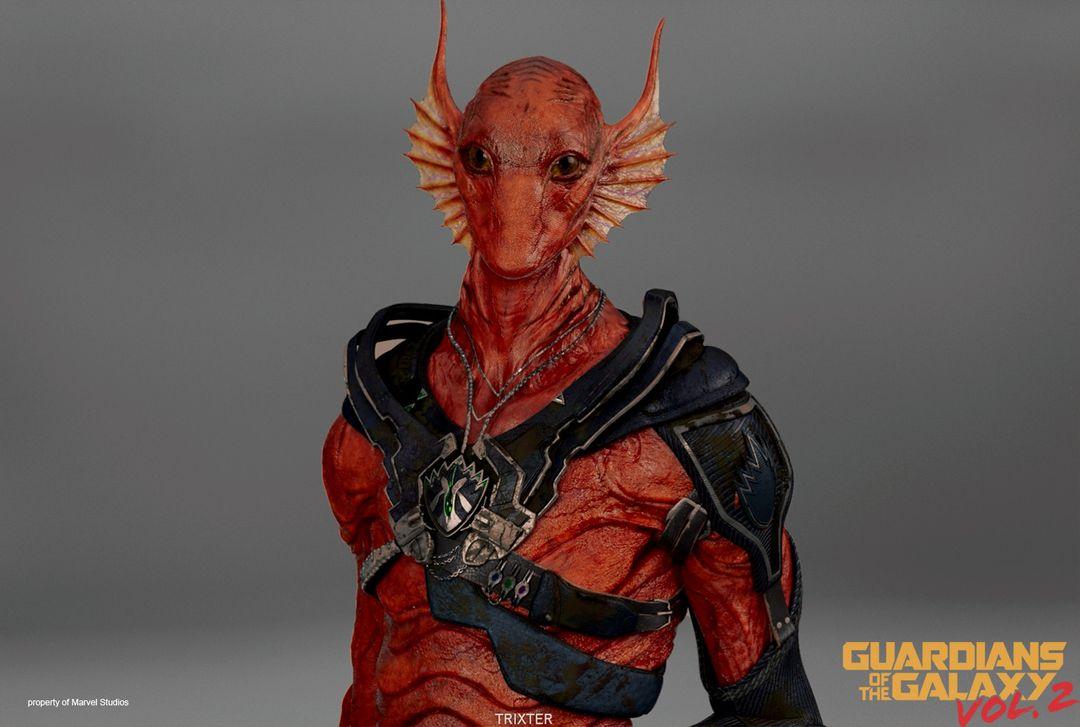 Creature/Character Sculpts For Marvel Studios Guardians of the Galaxy V2 Krugarr 01 jpg