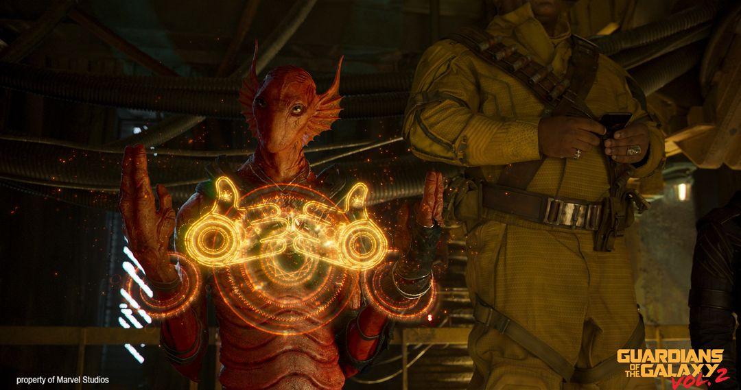 Creature/Character Sculpts For Marvel Studios Guardians of the Galaxy V2 Krugarr 02 jpg