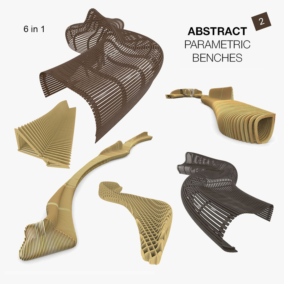 Parametric Wood Bench Design 00 jpg