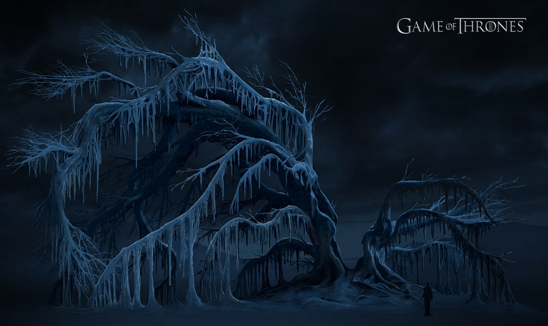Game of Thrones Arctic Tree Concept arctic tree concept v2 jpg