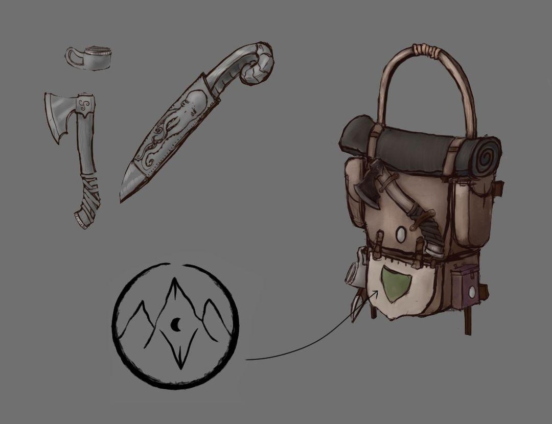 The Wanderer's Guild Fantasy Backpack Backpack 05 jpg