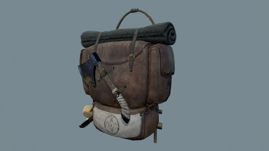 The Wanderer's Guild Fantasy Backpack Backpack 01 jpg
