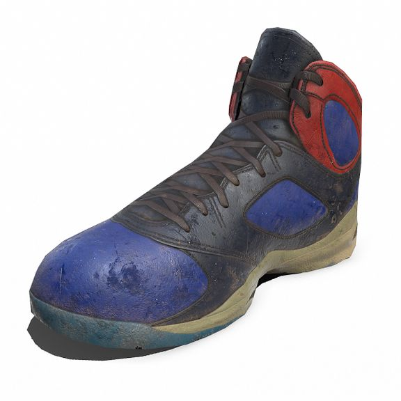 Sneaker low-poly
