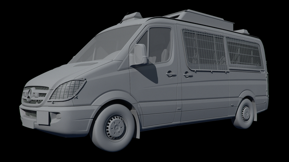 Automotive 3D Modeling
