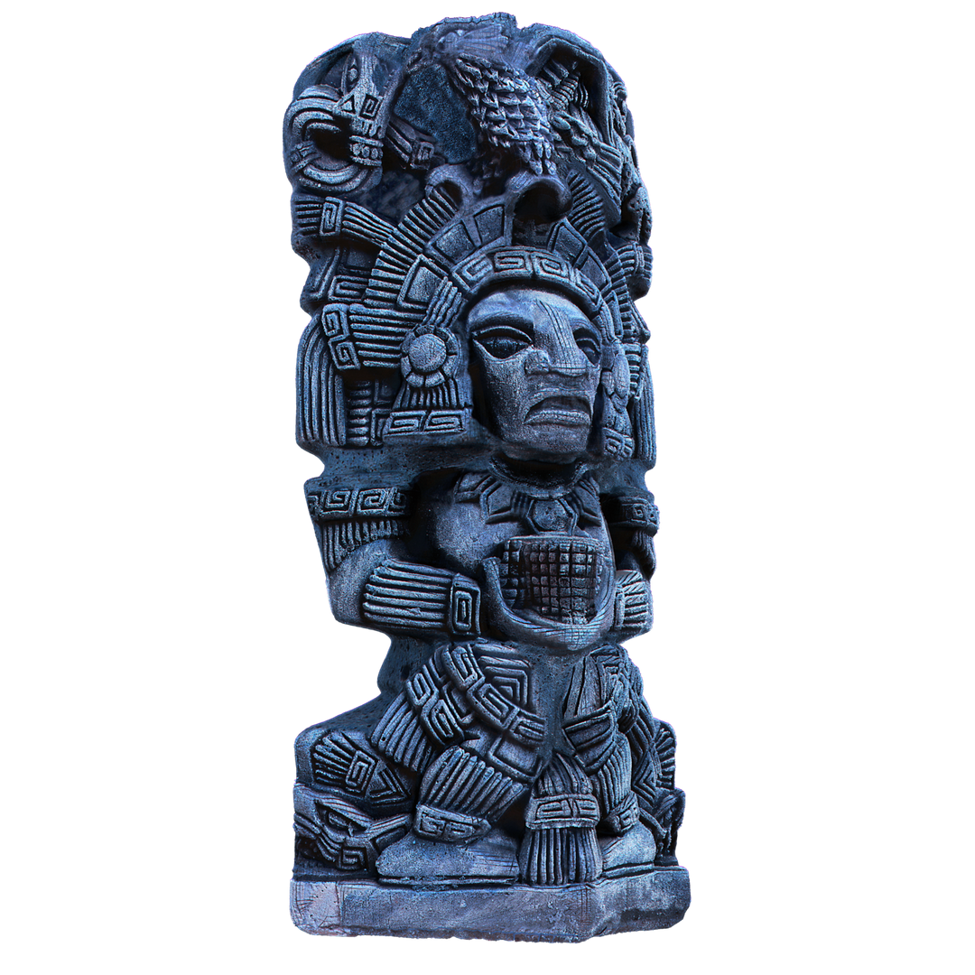 Aztec Statue 3D Modeling and Texturing final06 png