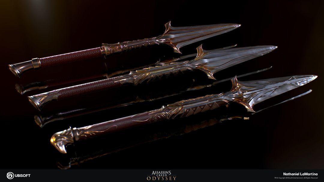 Leonidas Spears - Assassin's Creed Weapons Leonidas Spears jpg