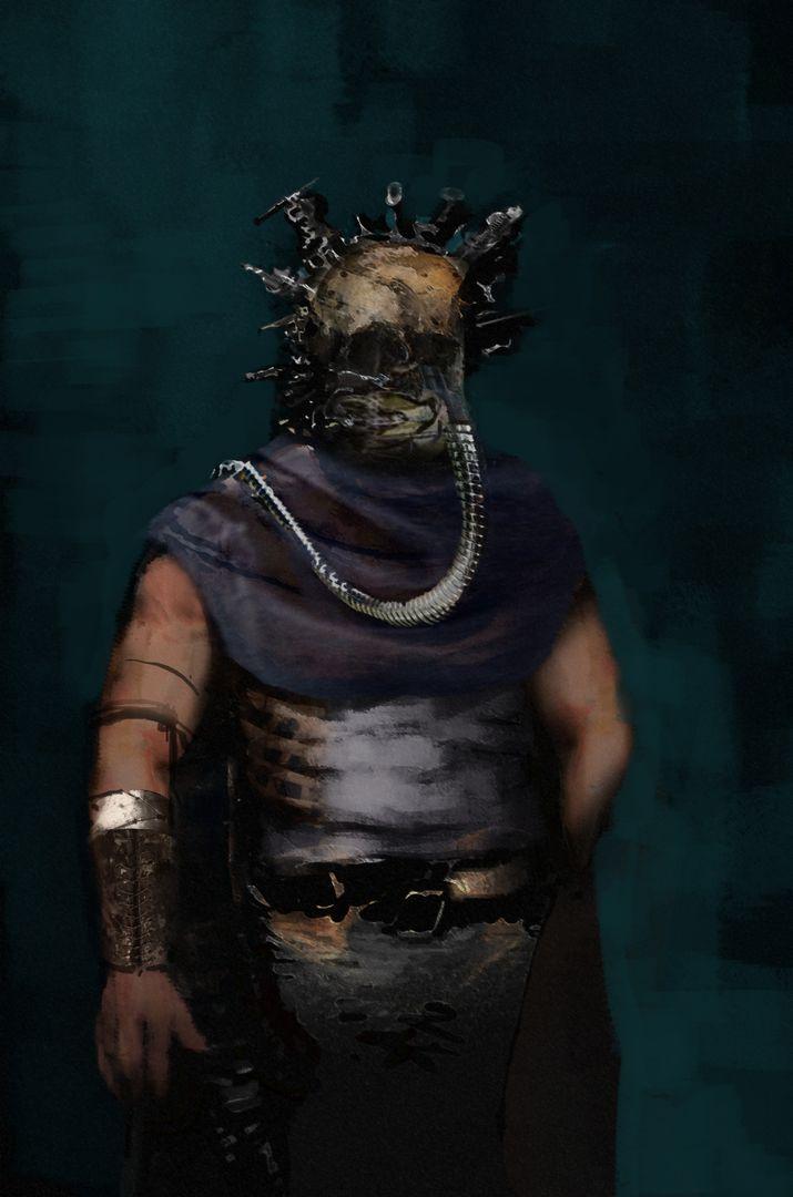 Character Design SkullHead V1 jpg