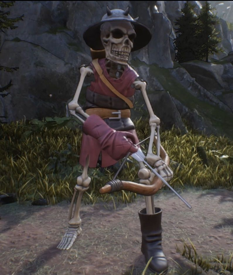 Skeleton zambie  Animations for unreal engine Archer jpg