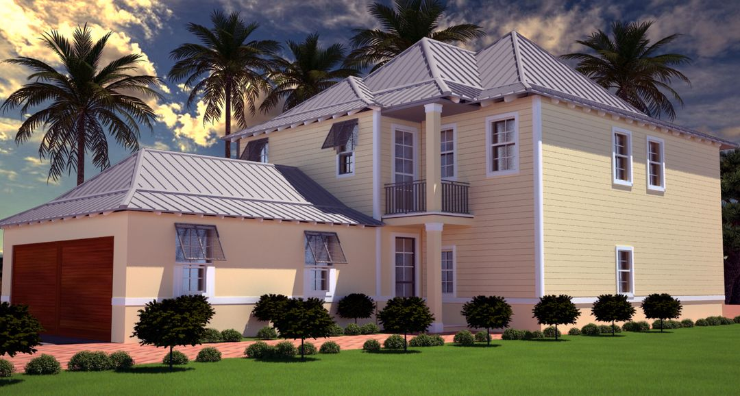 Exterior Rendering ( 3ds MAX - V-ray) RENDRWA 4 Recovered jpg