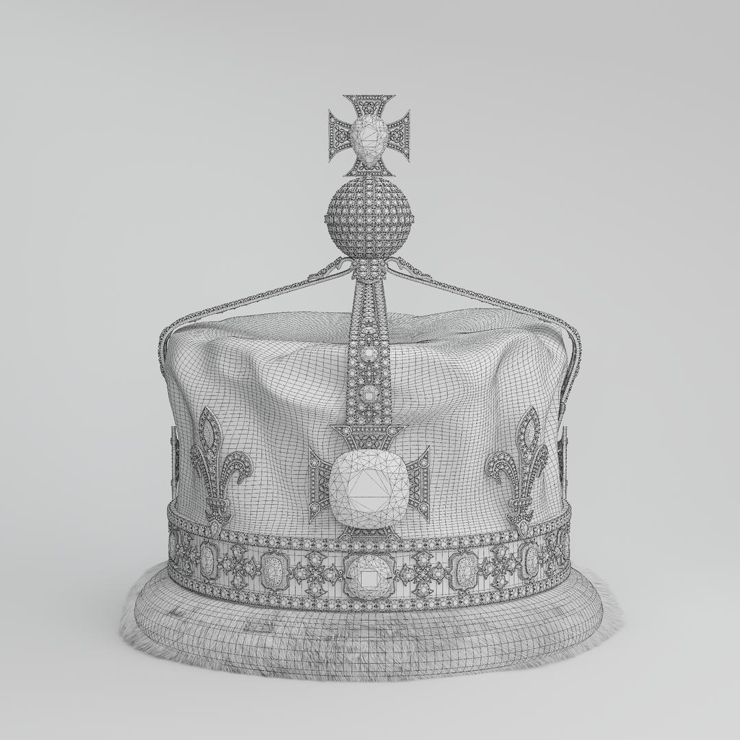 Queen Elizabeth The Queen Mother's Crown 1937 Crown (00000) Wire png