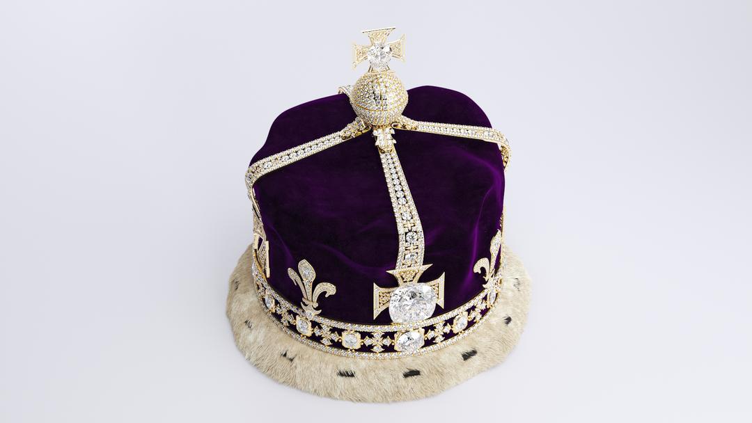 Queen Elizabeth The Queen Mother's Crown 1937 preview 0002 png