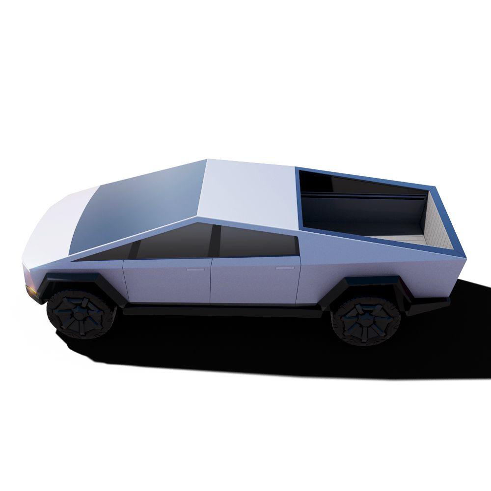 Vehicle Tesla Cybertruck Render 07 jpg